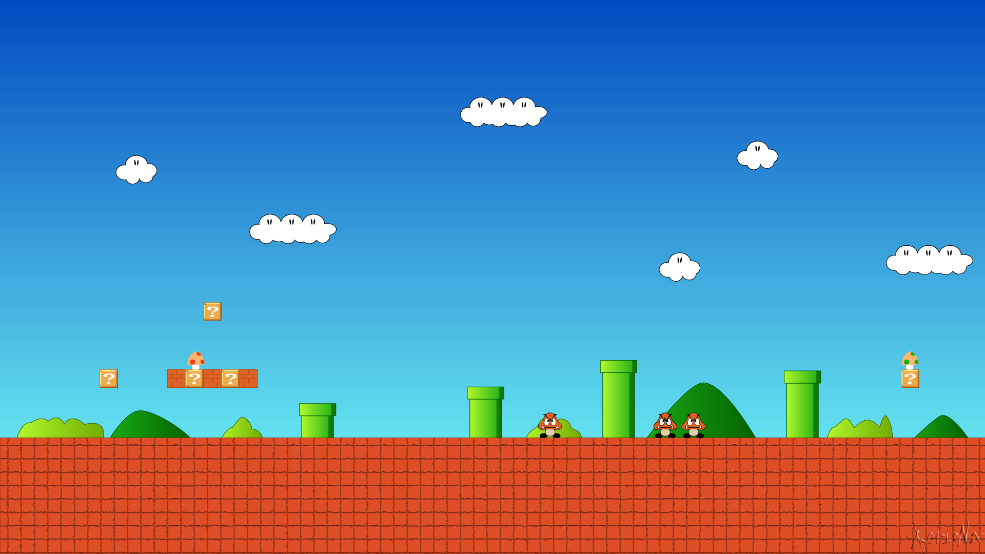 Super Mario Bros HD Wallpaper Background Image 1920x1080 ID 1920x1080