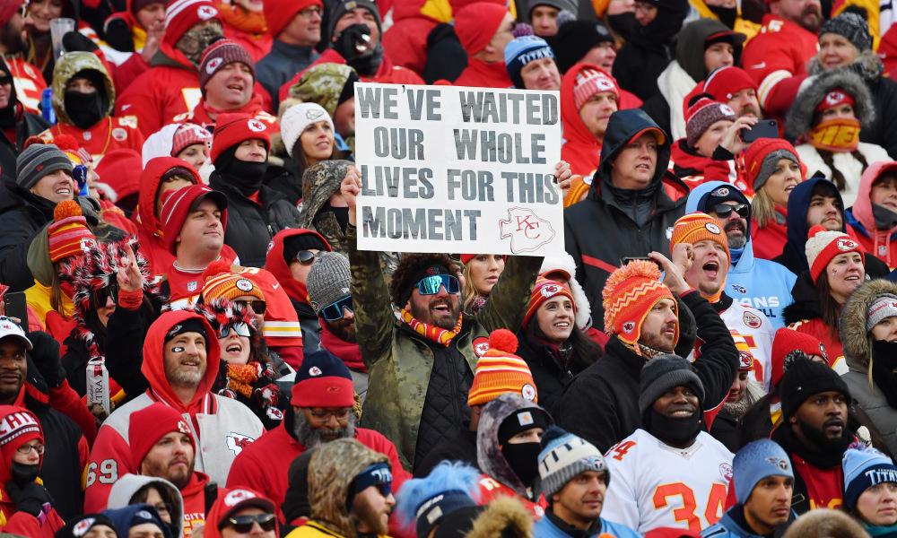 Super Bowl 54 Kansas City Chiefs fans deserve this so darn much 1000x600