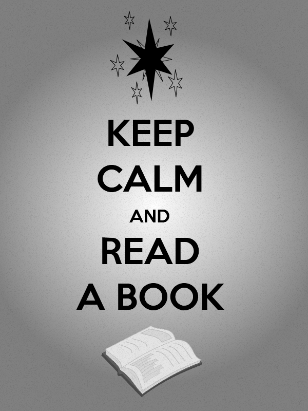 Keep Calm and Read a Book Kindle wallpaper by ahumeniy 600x800