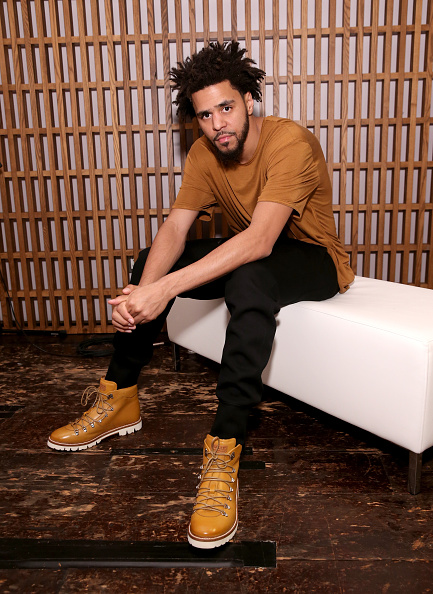 WATCH J Cole Goes off The Grid With Bally Cappuchino on Power 99 433x594