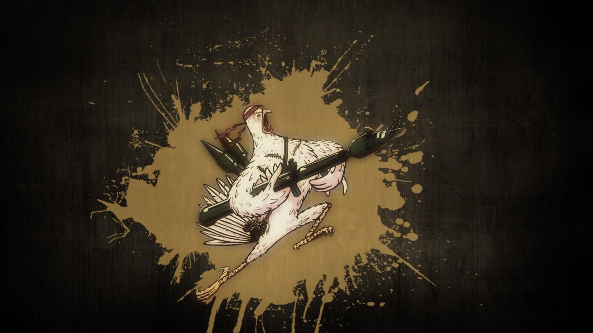 Funny Chicken Wallpaper - WallpaperSafari