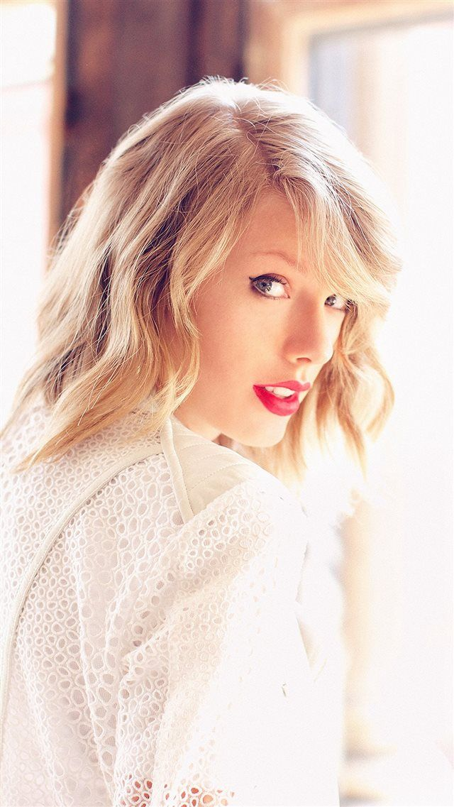 Taylor Swift Music Girl Beauty iPhone 8 wallpaper in 2020 Taylor 640x1137