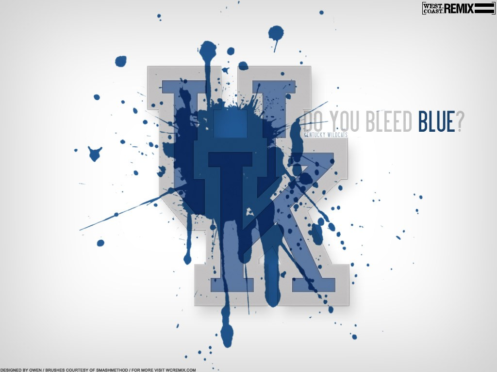 Do You Bleed Blue University of Kentucky Desktop Wallpaper 1024x768