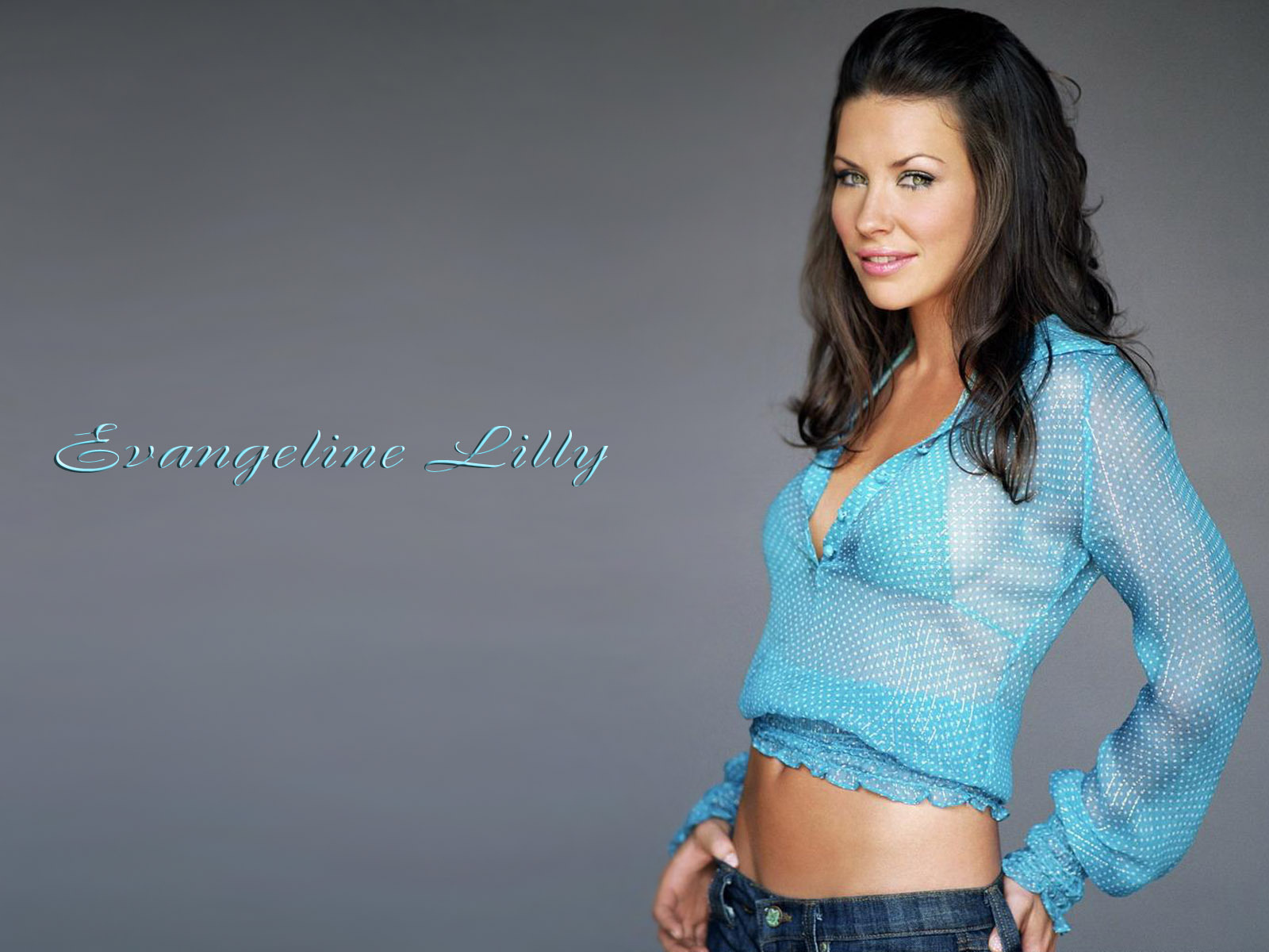 Most Beautiful Evangeline Lilly Wallpaper Full HD Pictures 1600x1200
