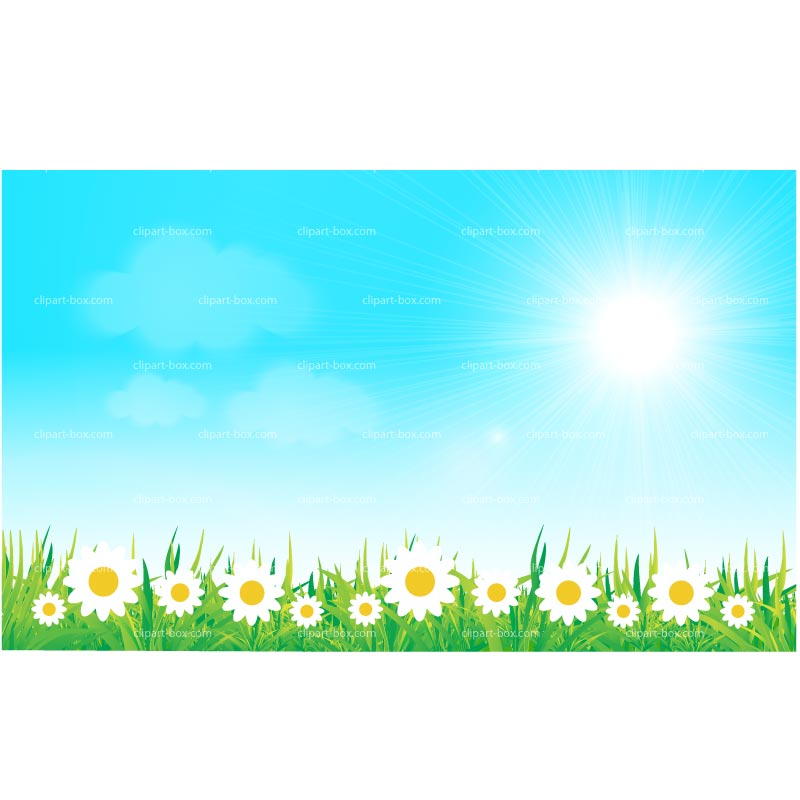 Spring Background Clipart Group with 62 items 800x800
