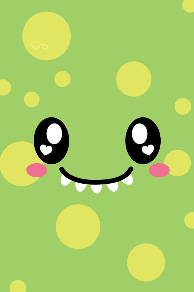 Cute smiling face SN01 iPhone wallpapers Background and Themes 640x960