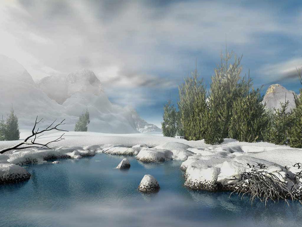 3d animated winter wallpaper desktop wallpapersafari - 3d animation pictures desktop ...