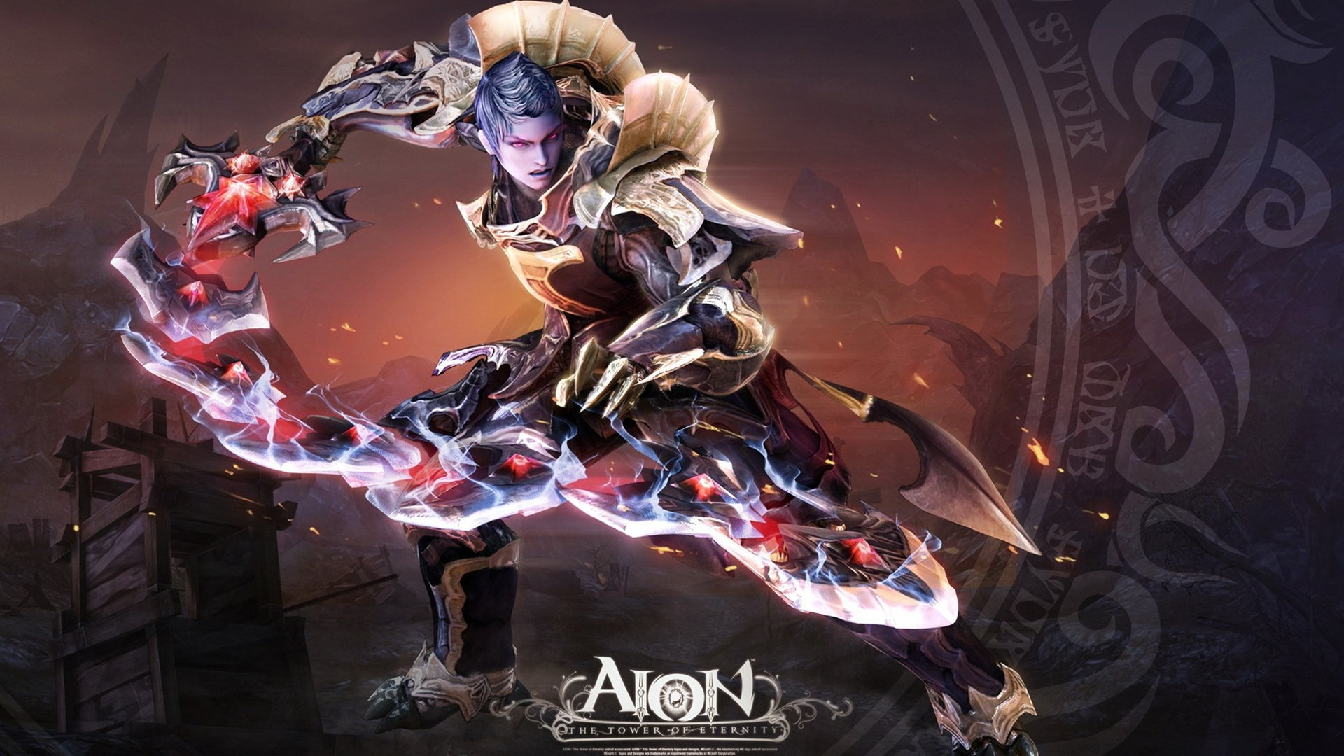 Aion Character   High Definition Wallpapers   HD wallpapers 1920x1080