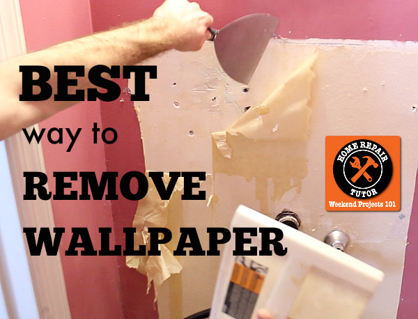 The best way to remove wallpaper without chemicals is steam 600x458