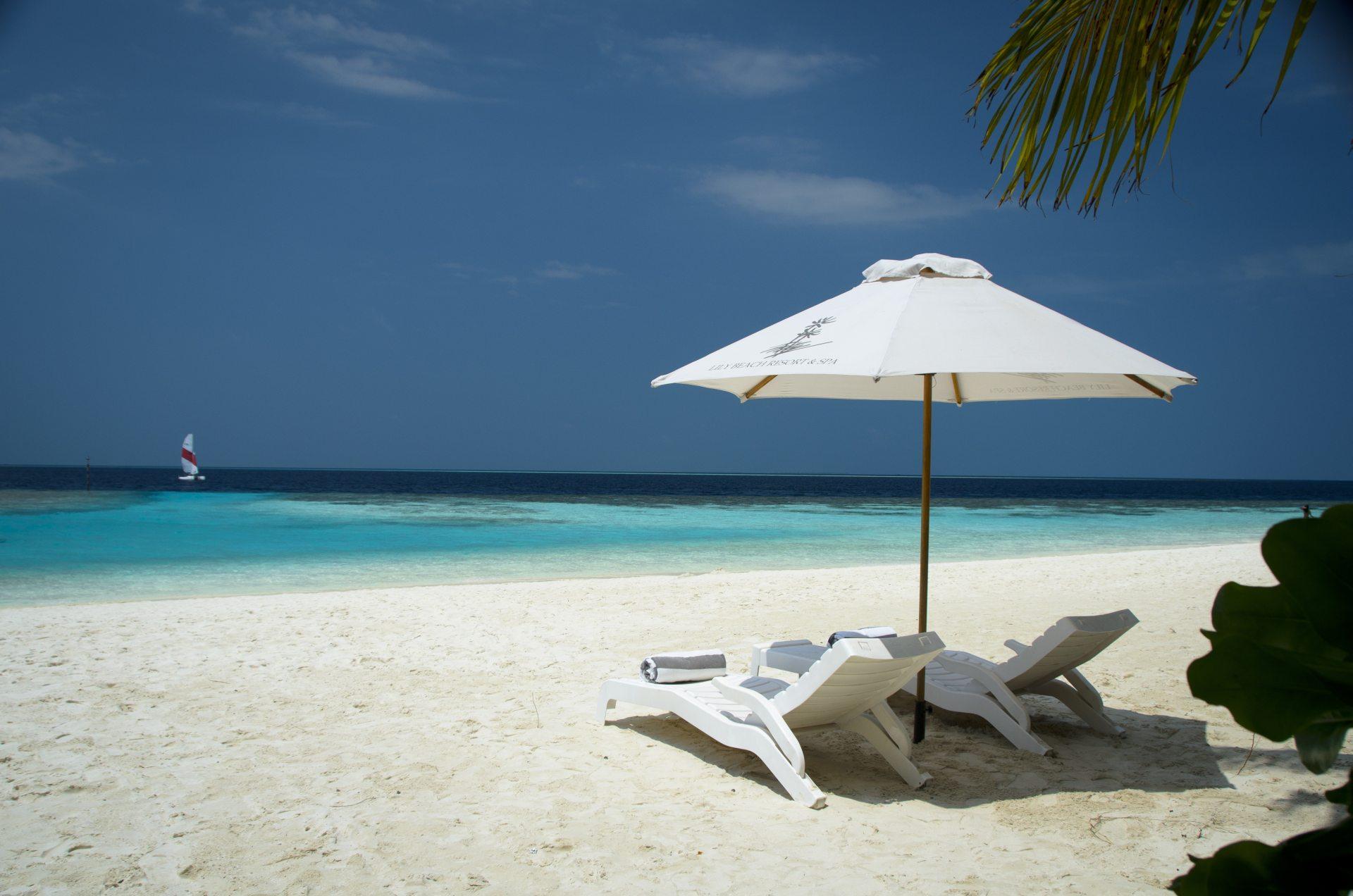 Beach Chairs Wallpaper Wallpapersafari