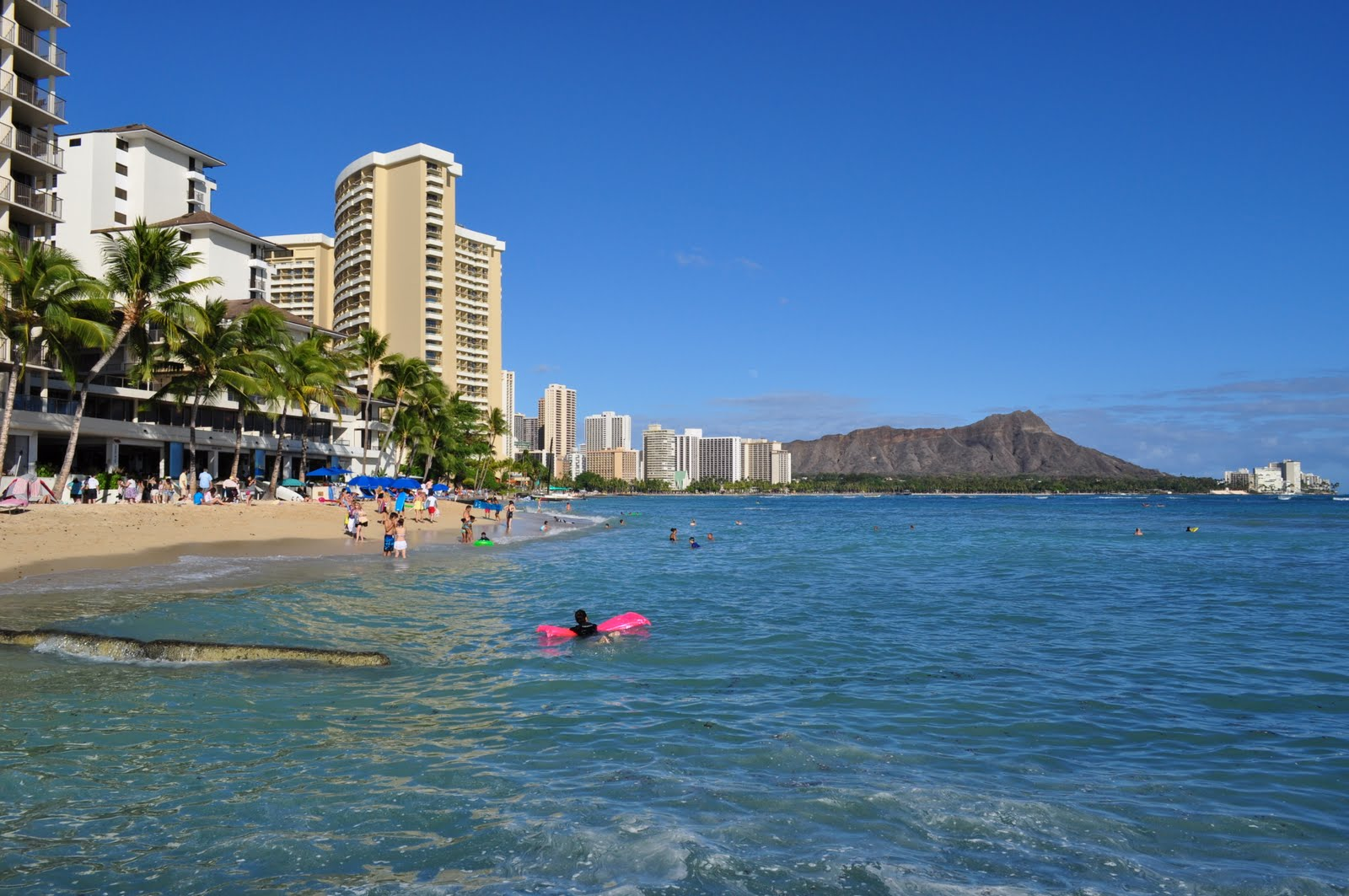 Waikiki Beach Wallpaper Hd: Waikiki Beach Wallpaper HD