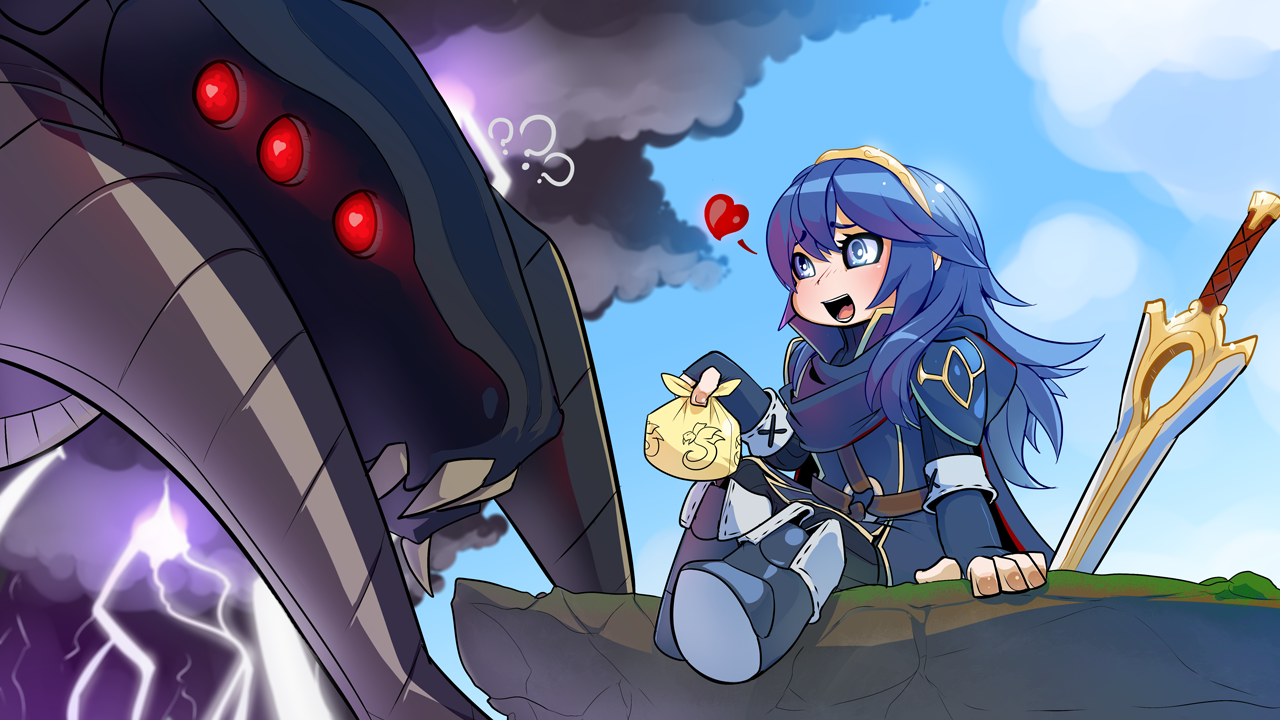 Free Download Fire Emblem Grima Lucina By Drowtales 1280x720 For