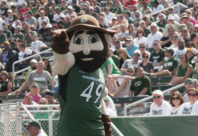 Norm Begins Quest to Become Top C USA Mascot   Charlotte 49ers 640x441
