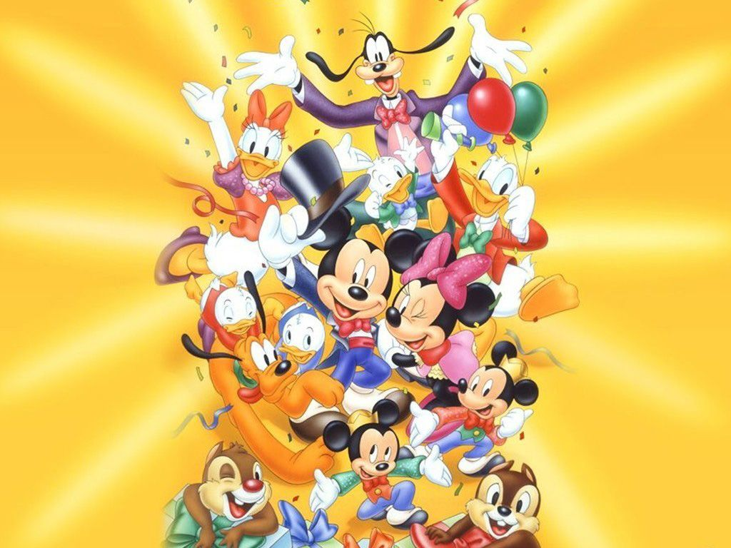 disney wallpaper Disney Character Wallpaper 1024x768