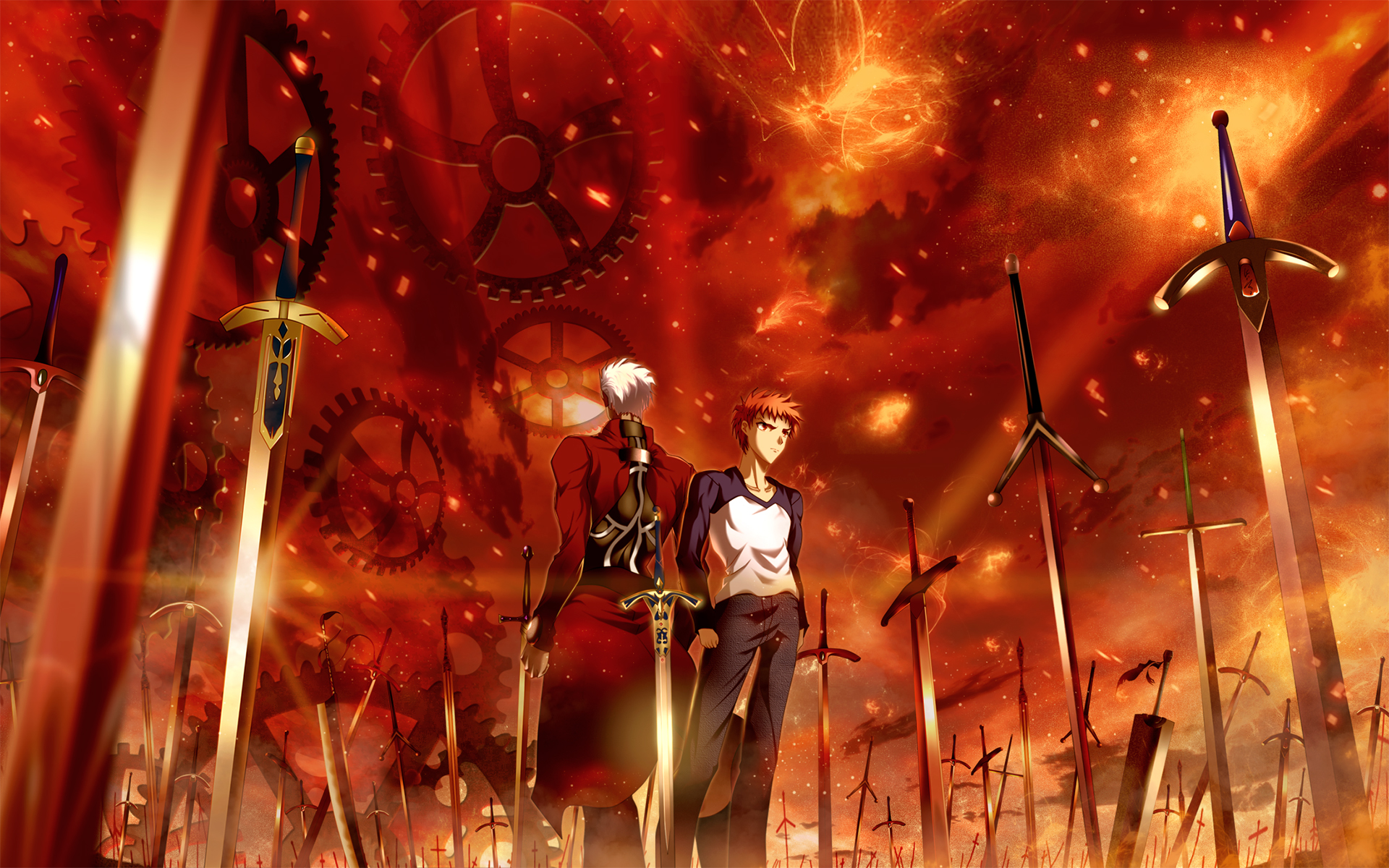 Fate Stay Night FateStay Anime Wallpaper Ultimate Blade Works VN 1920x1200