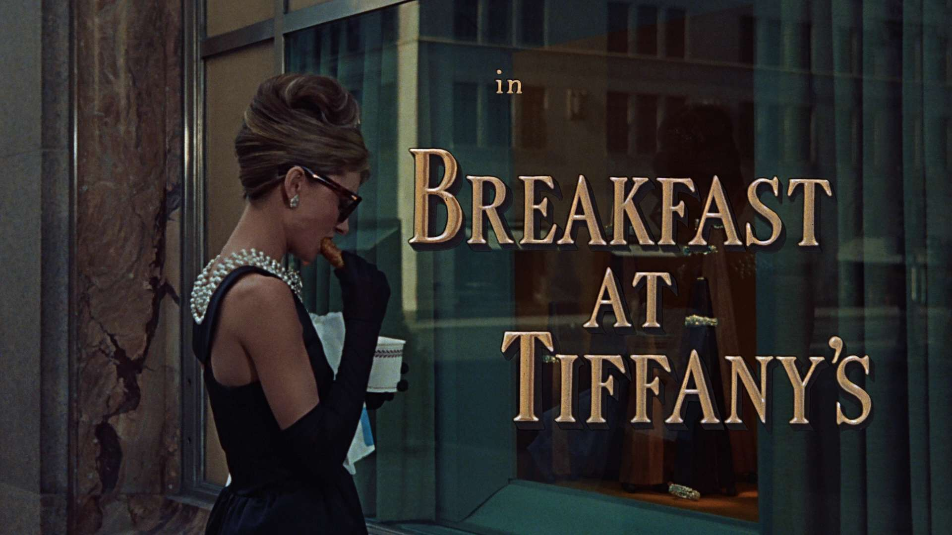Breakfast At Tiffanys Holly Golightly Audrey Hepburn Desktop Wallpaper 1920x1080