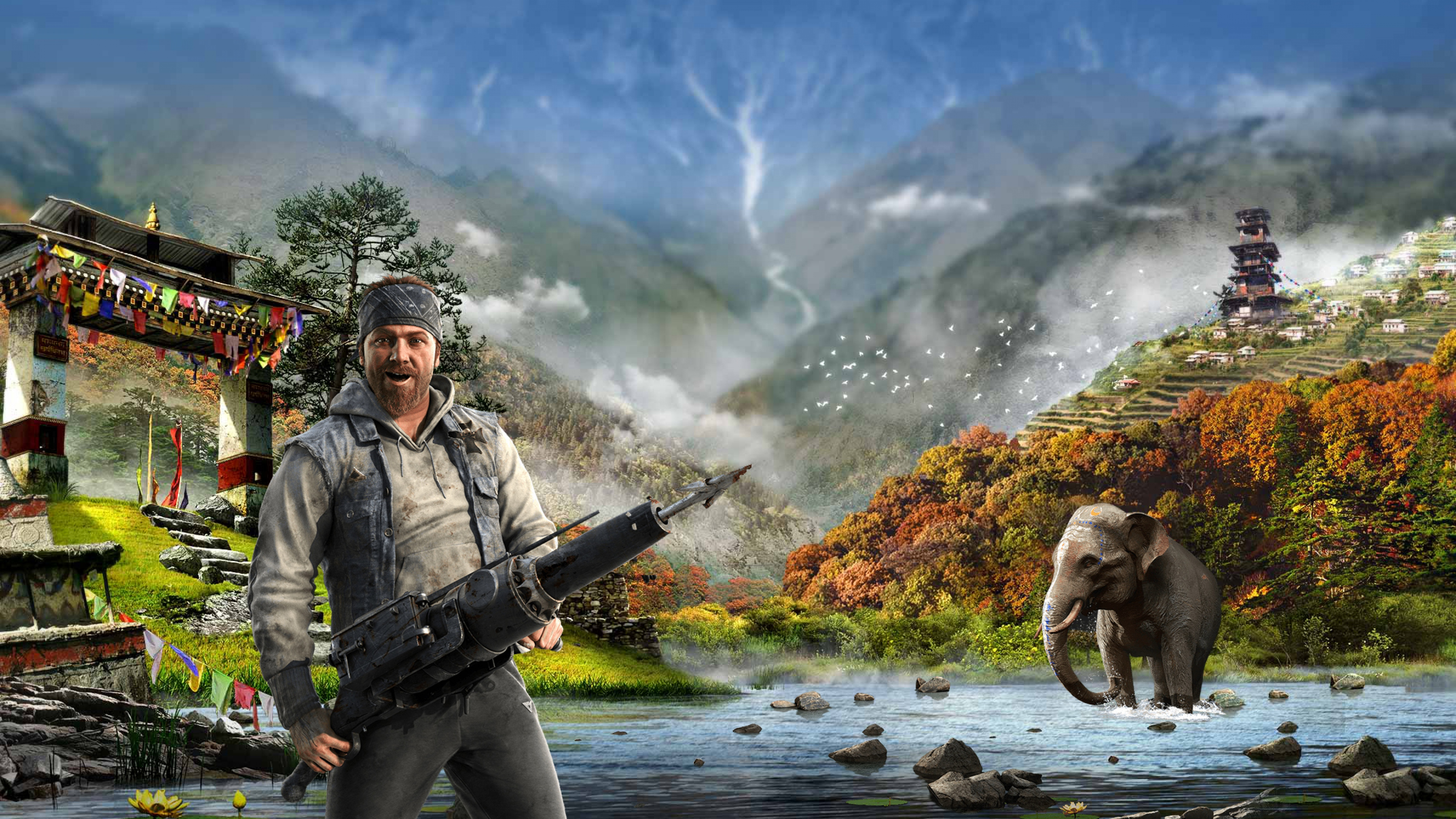 Free Download Far Cry 4 Ubisoft Harpoon Kirata Wallpaper