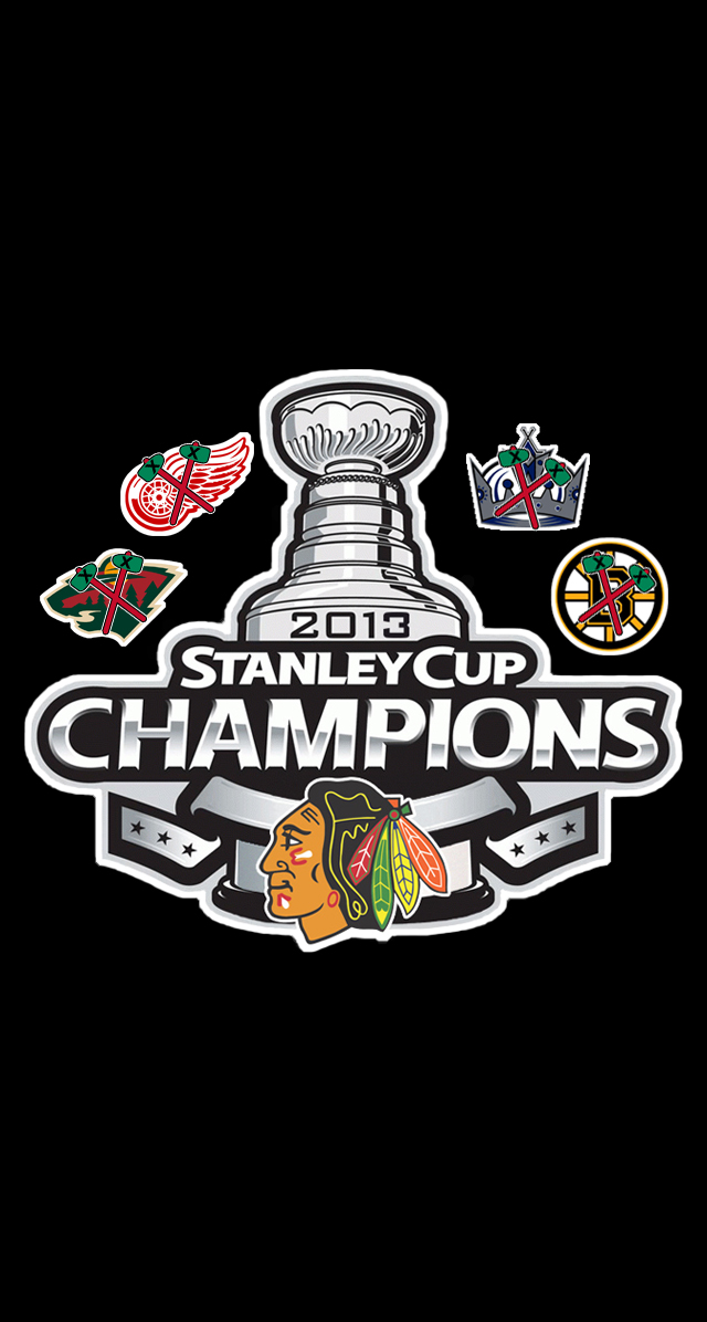 GoDopey2014 2013 Chicago Blackhawks Stanley Cup Champions Wallpaper 640x1196