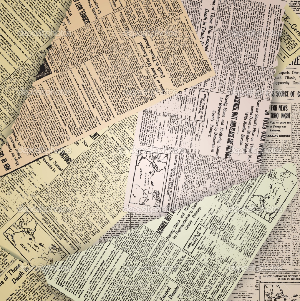 Old newspaper Vintage Newspaper Wallpaper 1019x1024