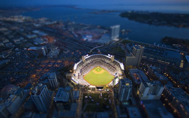 San Diego Padres ballpark Petco Park San Diego California Wallpaper 800x500