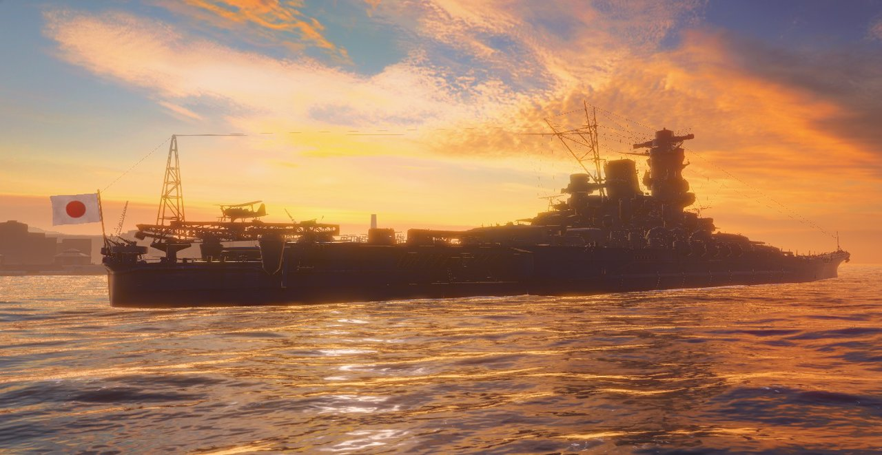 IJN Yamato by Admiral Kevin 1280x661