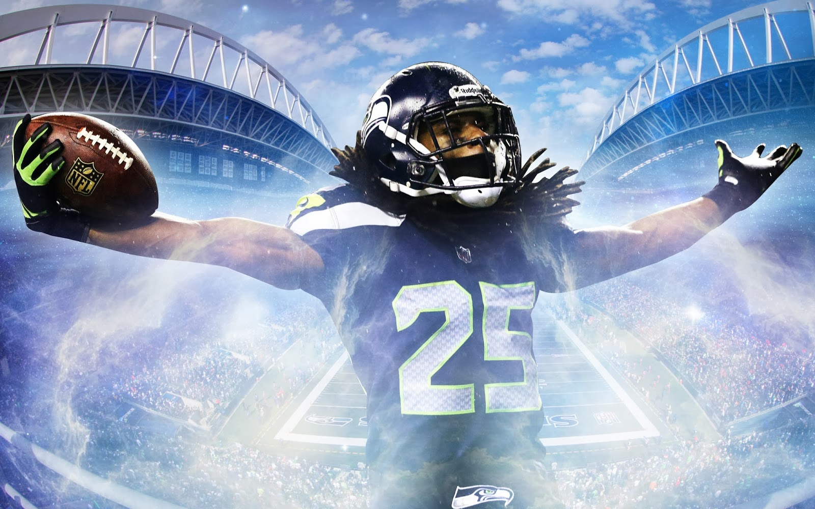 Top 10 HD Richard Sherman Wallpaper 1600x1000
