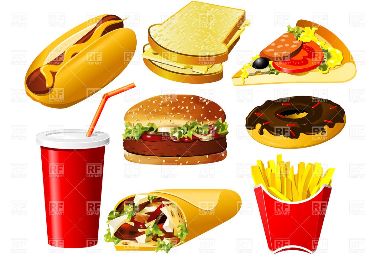 Best Junk Food Clipart 16424   Clipartioncom 1200x814