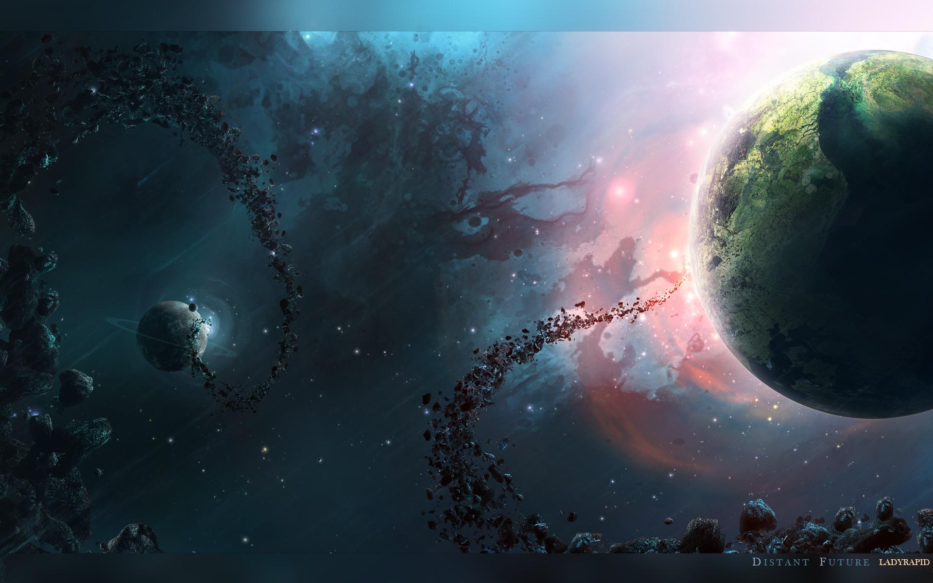 Nebula Universe HD Wallpaper 1920x1200