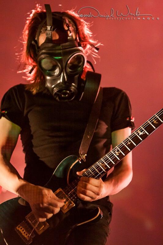 Steven Wilson wGas Mask by dannywork 533x800