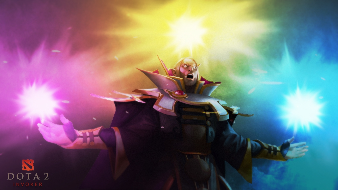 Invoker Wallpaper   DOTA 2 Wallpapers 1366x768