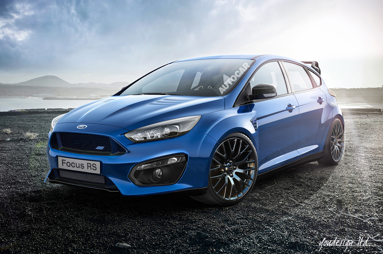 Third generation Ford Focus RS powered by 23 litre EcoBoost engine 1600x1060
