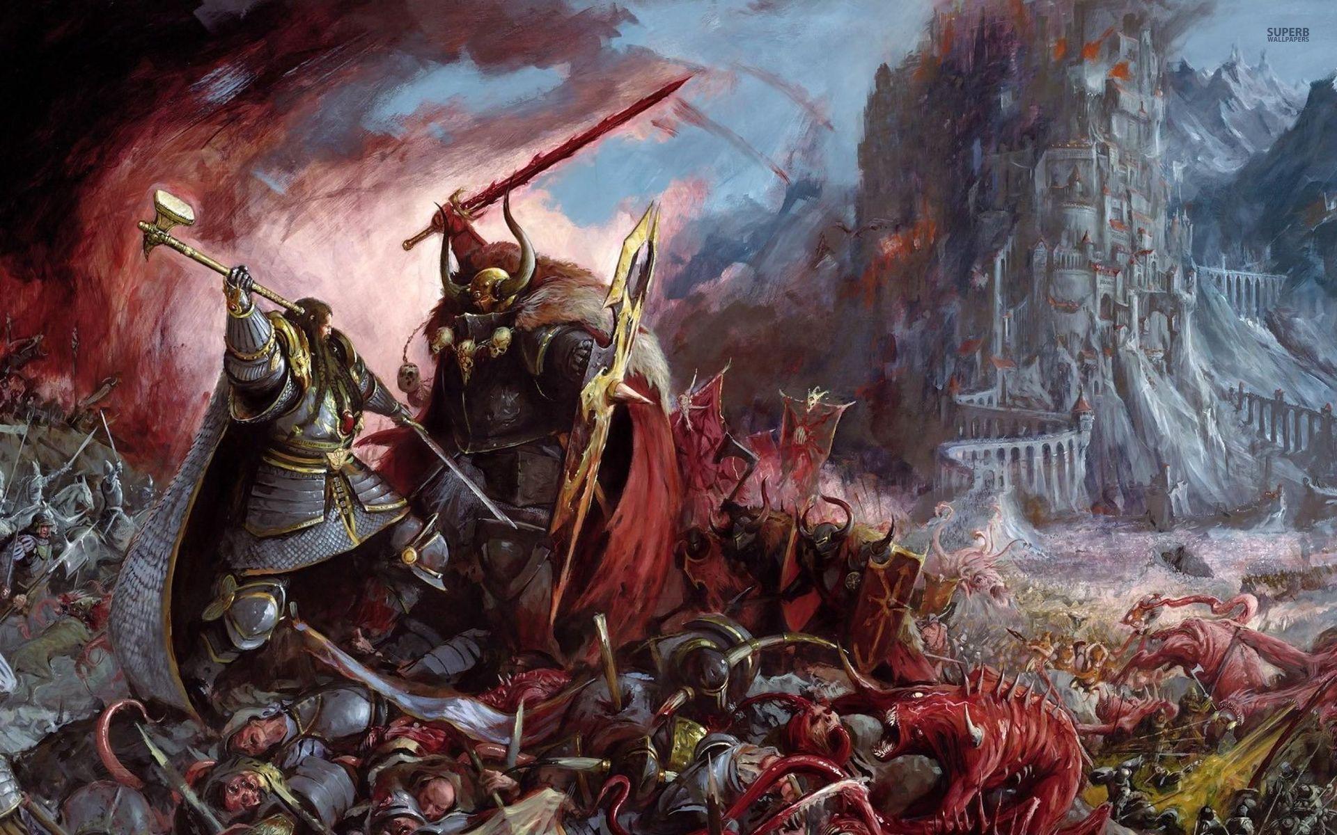 Warhammer battle 1920x1200