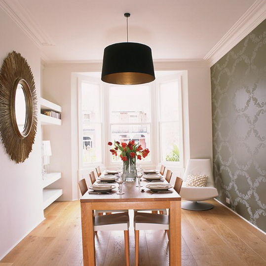dining rooms with wallpaper 2015   Grasscloth Wallpaper 539x539