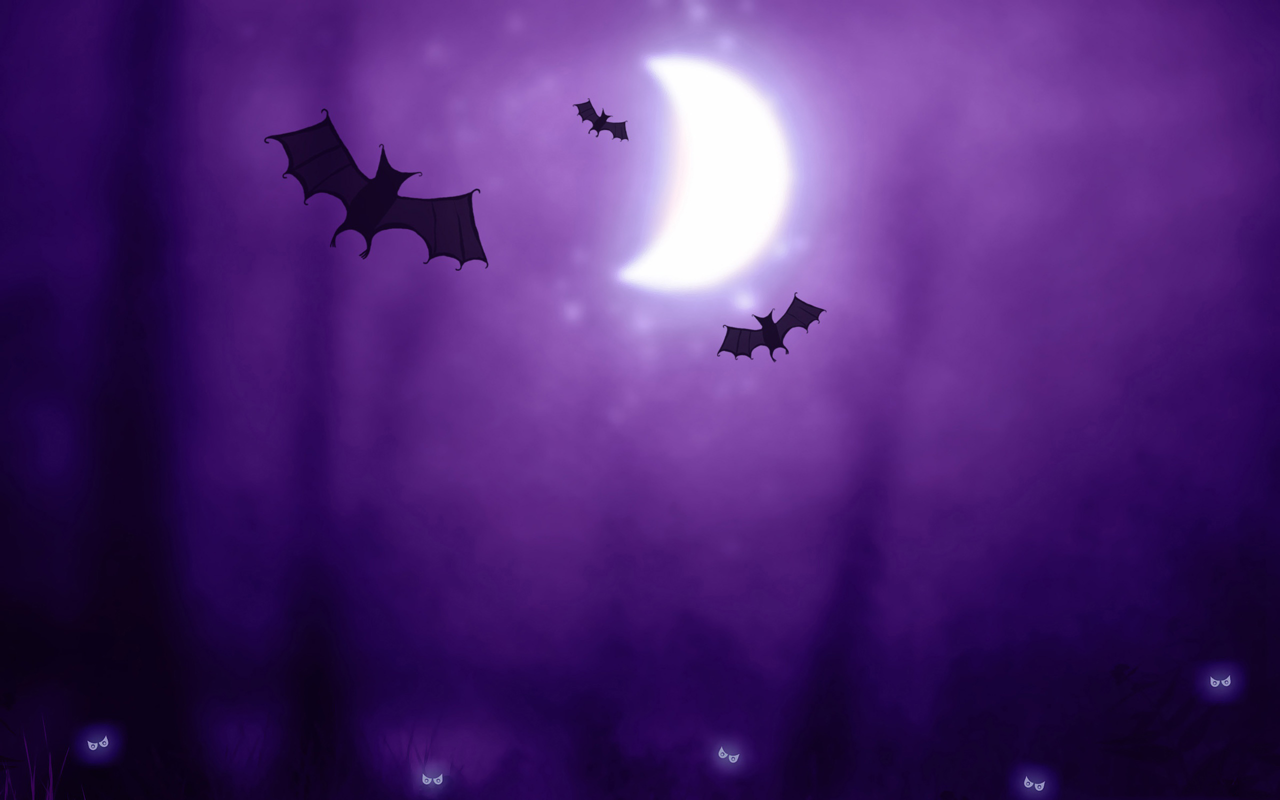 Happy Halloween Wallpapers for your widescreen LCD monitors 2560x1600