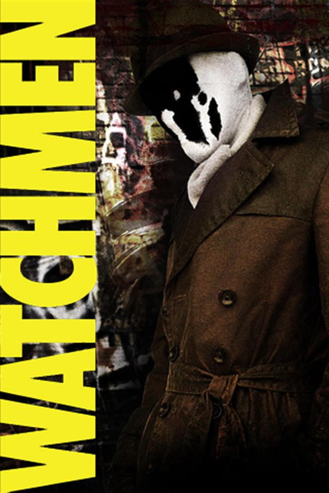 Rorschach Watchmen 2 iPhone Wallpapers iPhone 5s4s3G Wallpapers 640x960