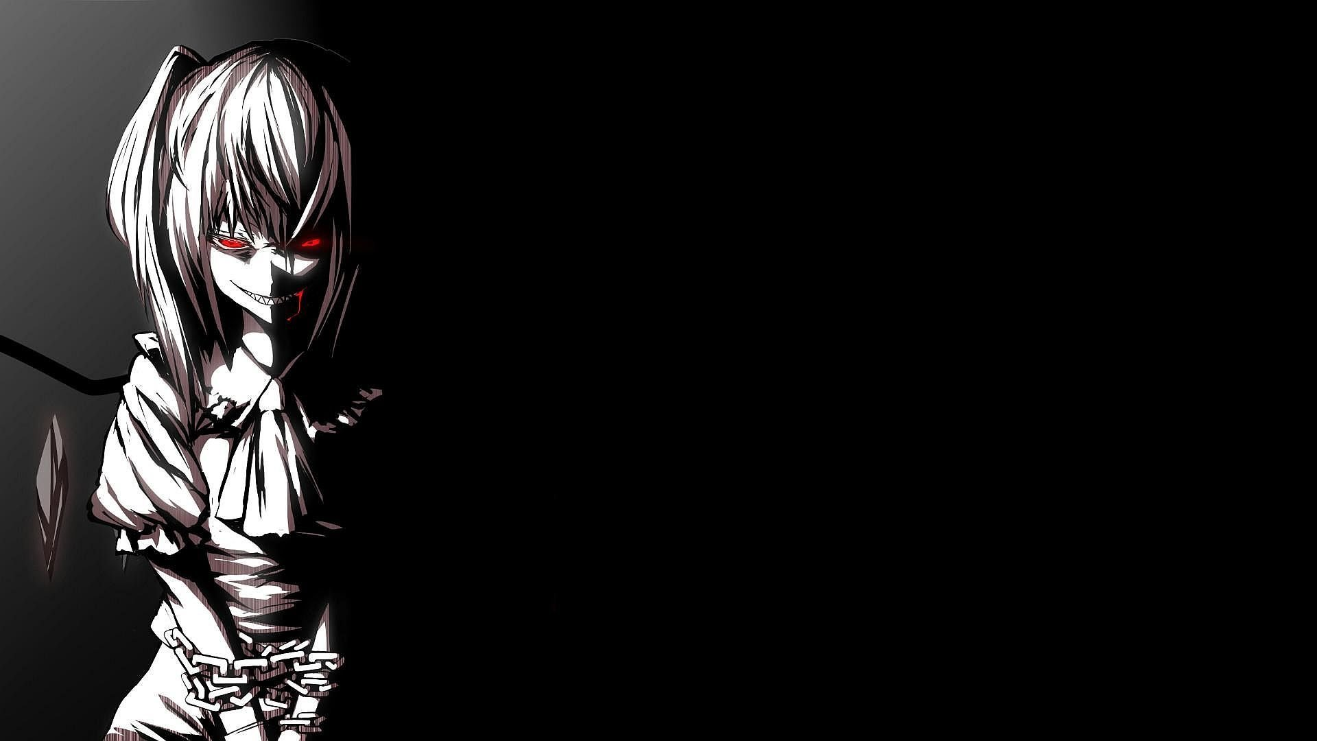 45 Dark Anime Girl Wallpaper On Wallpapersafari