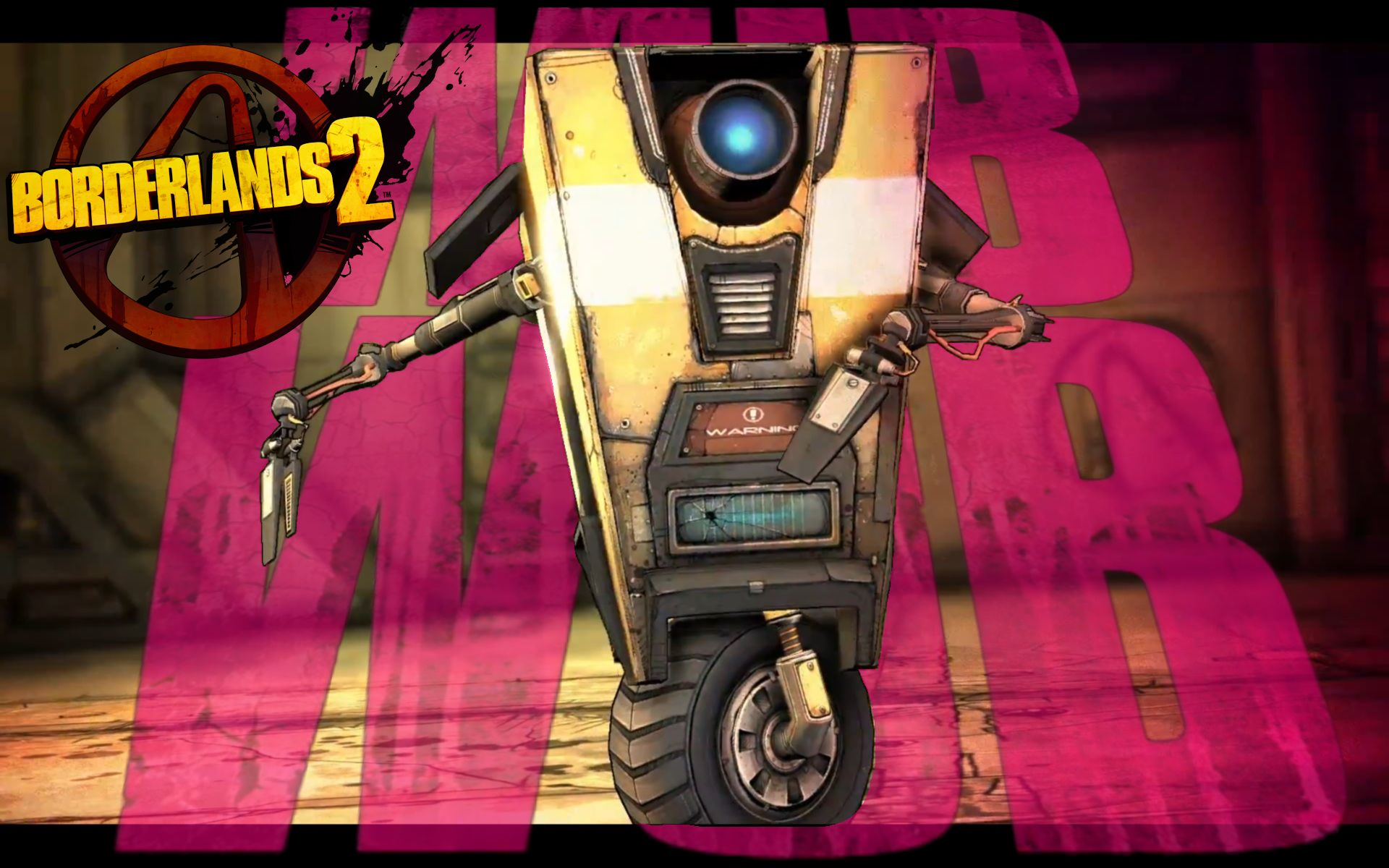 ClapTrap WubWub Wallpaper 1920x1200