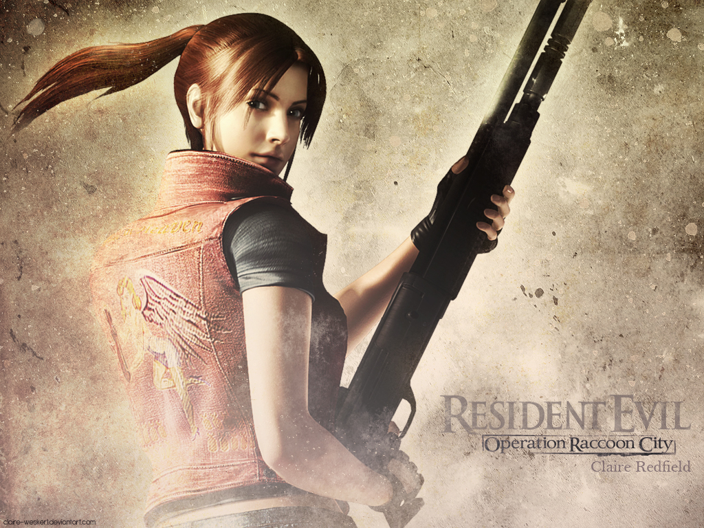 Claire Redfield Resident Evil Operation Raccoon City 1024x768