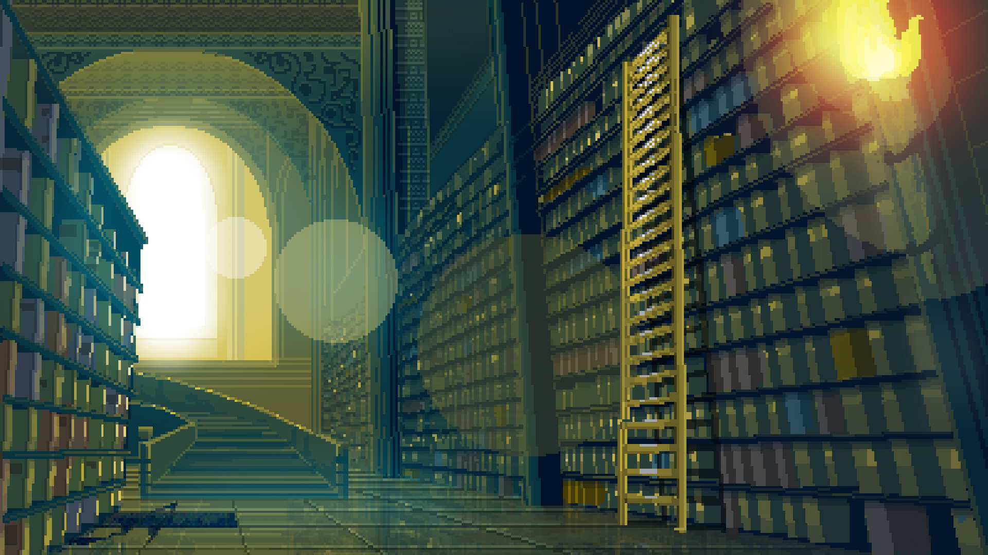 Pixel Library HD Wallpaper Background Image 1920x1080 ID 1920x1080
