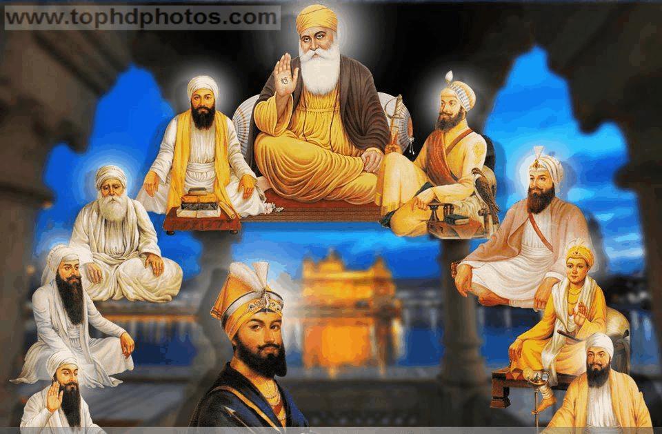 of sikh gurus for desktop