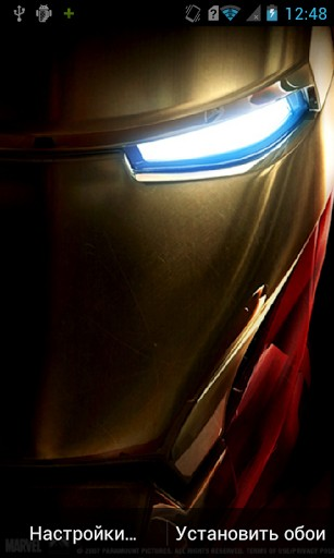 Iron Man HD Live Wallpaper for Android 307x512