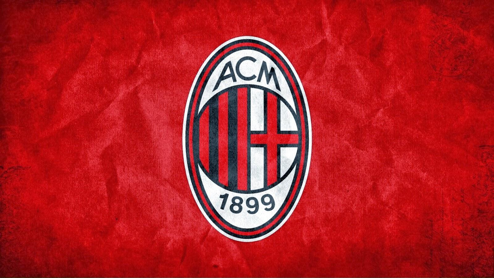 AC Milan FC Logo HD Wallpapers 2014 2015 1600x900