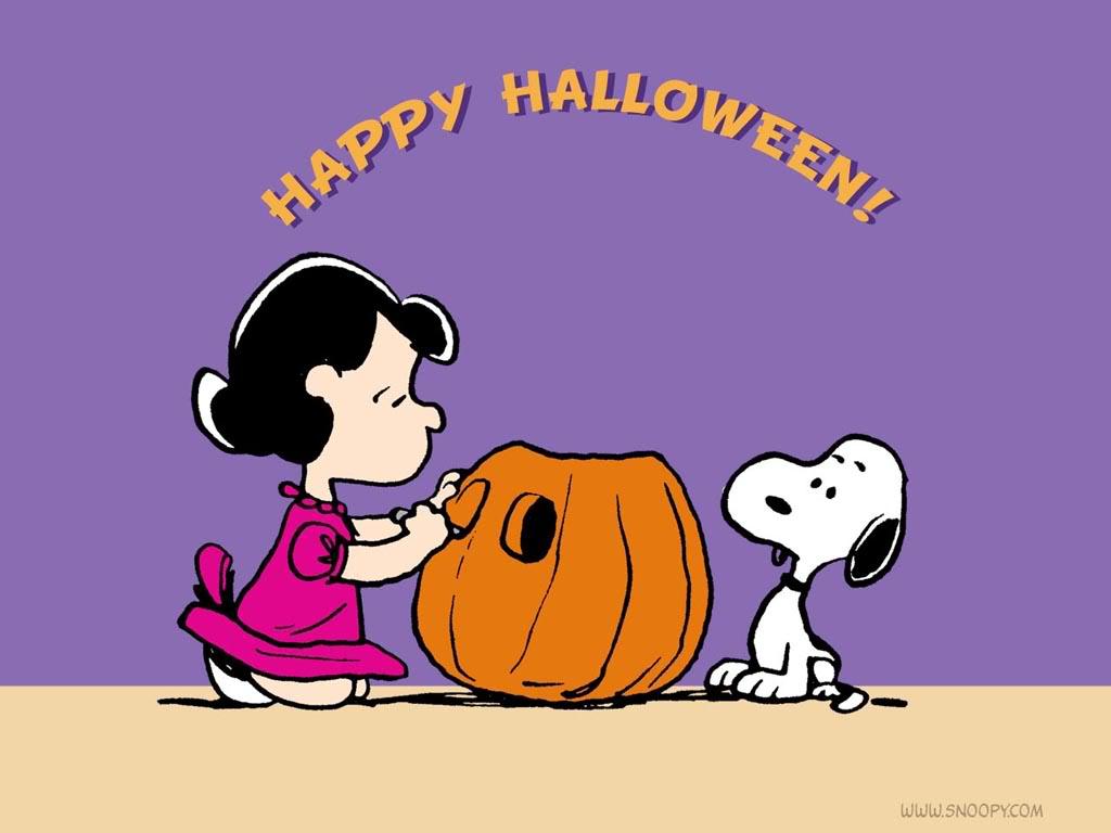 Peanuts Halloween Wallpaper - WallpaperSafari