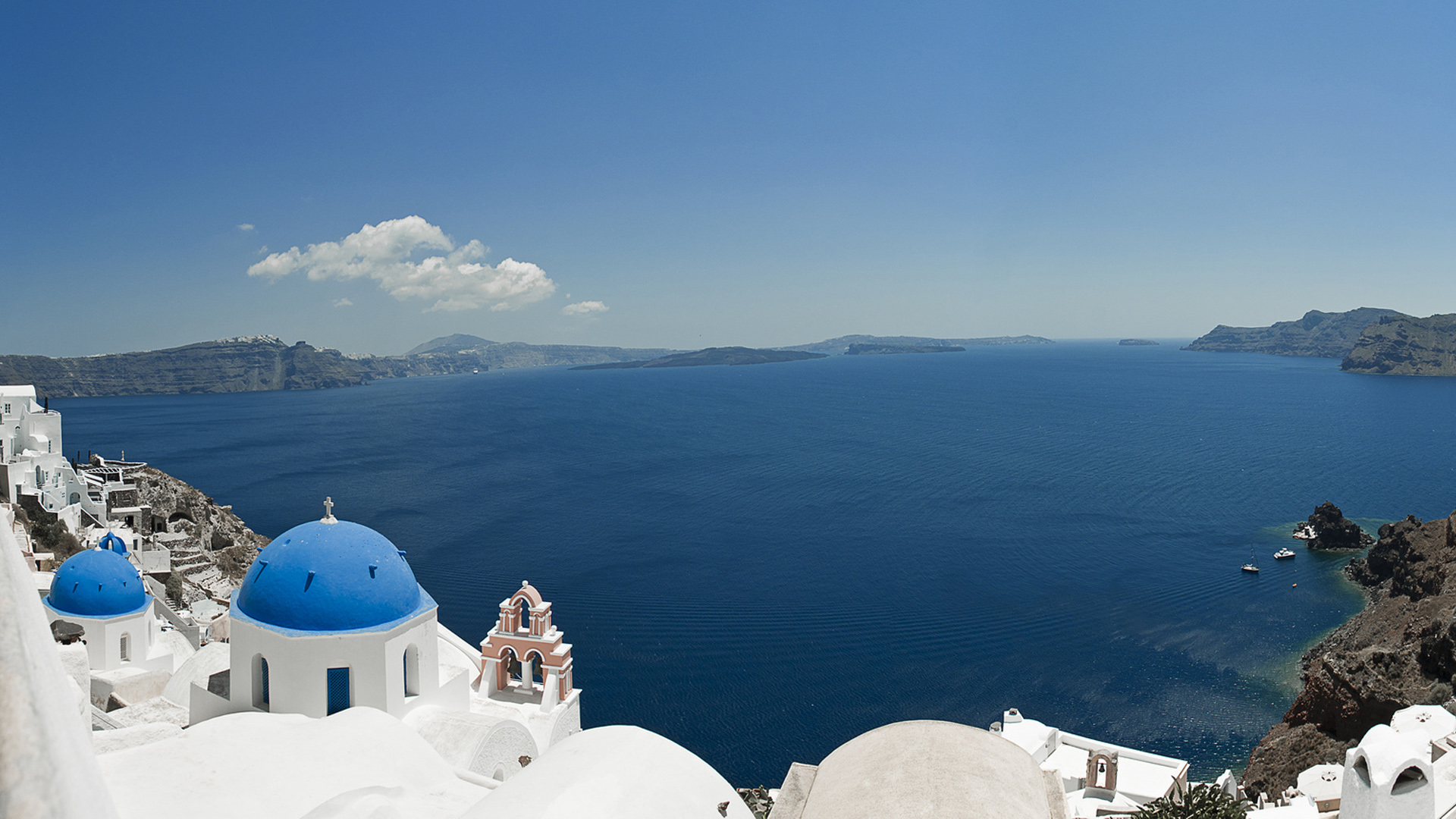 57] Santorini Wallpaper on WallpaperSafari 1920x1080