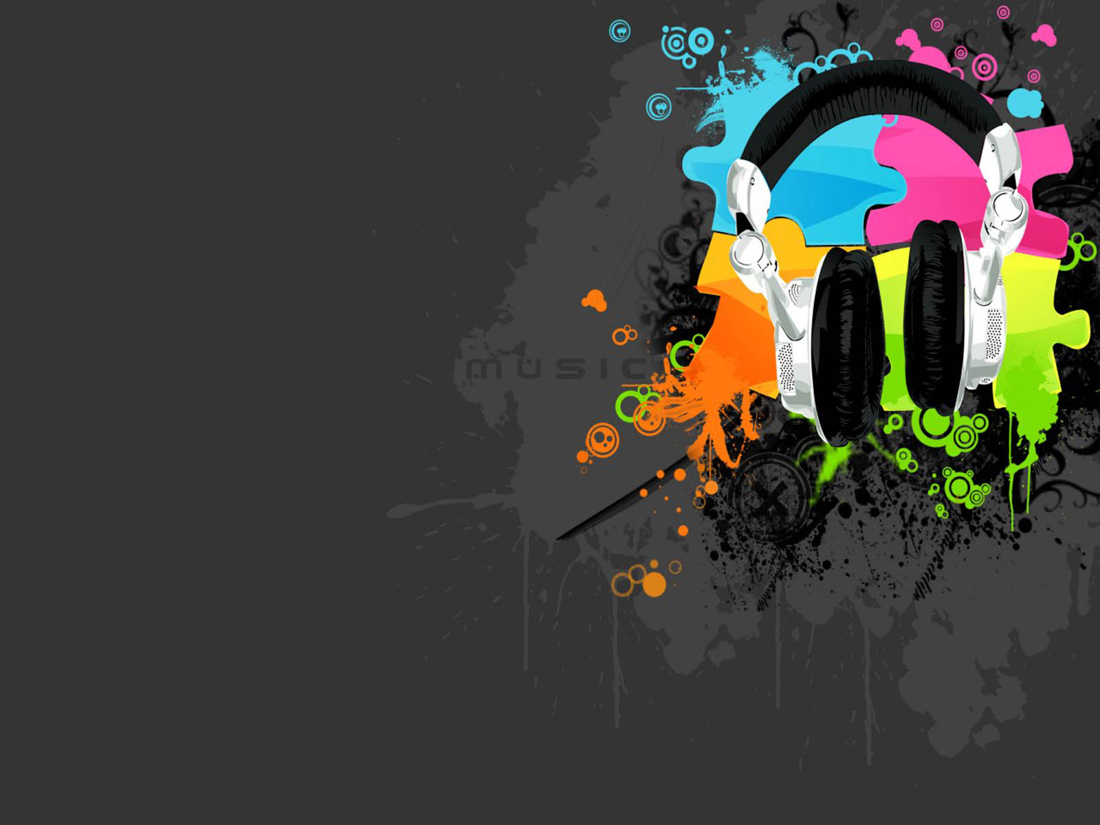 wallpapers Abstract Music Wallpapers 1600x1200