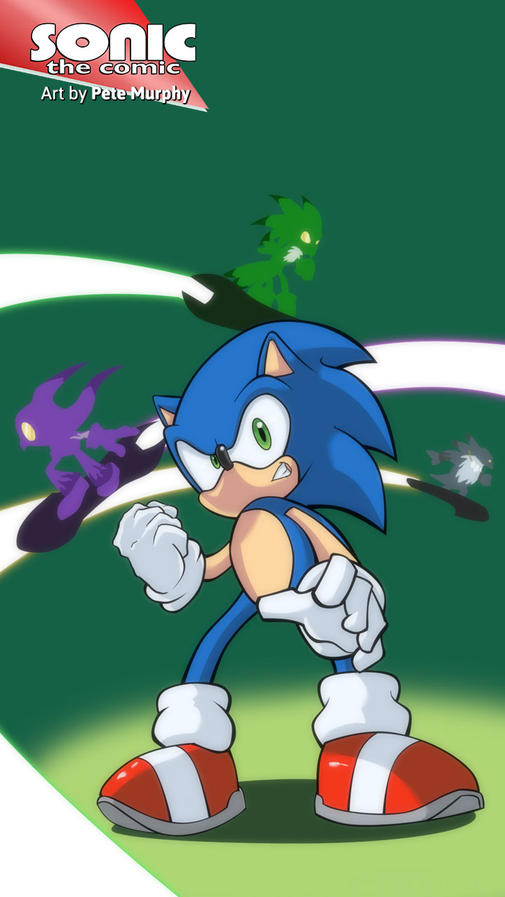 Sonic the Comic 261 Wallpapers 720x1280