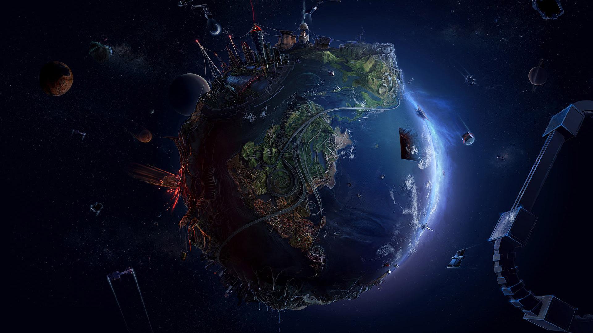 Planet Earth wallpaper 1920x1080