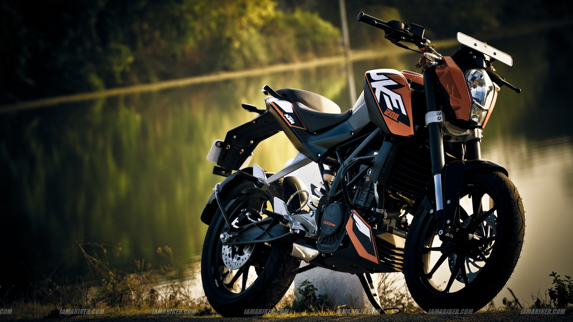 KTM Duke 200 Wallpaper Click For High Resolution 1920x1080