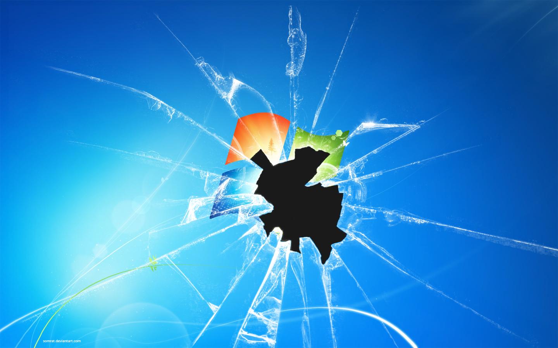 Free download broken windows seven 1440x900 for your desktop mobile tablet explore 48 - Cool screensavers for cracked screens ...