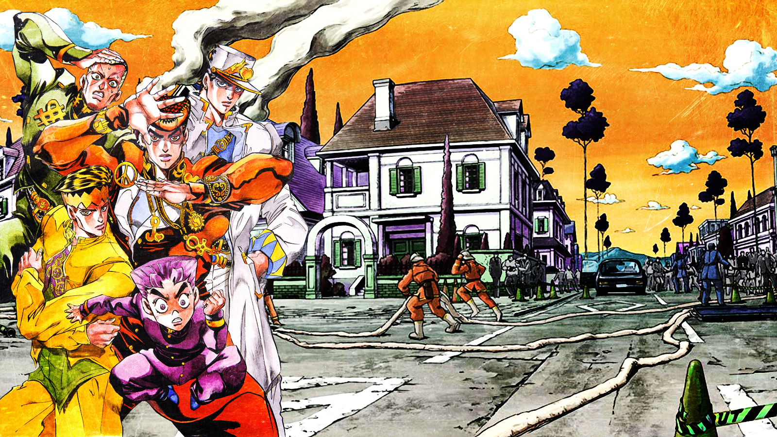 jojo s bizarre adventure wallpaper by franky4fingersx2 d7xw09mjpg 1600x900